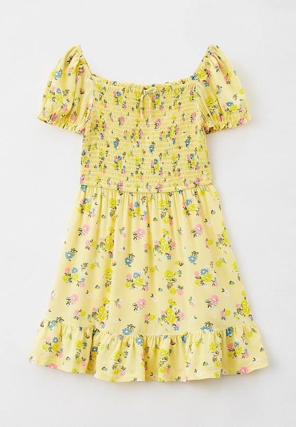 Платье Marks & Spencer желтого цвета