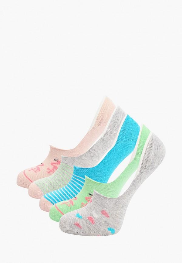 Носки 5 пар Marks & Spencer разноцветного цвета
