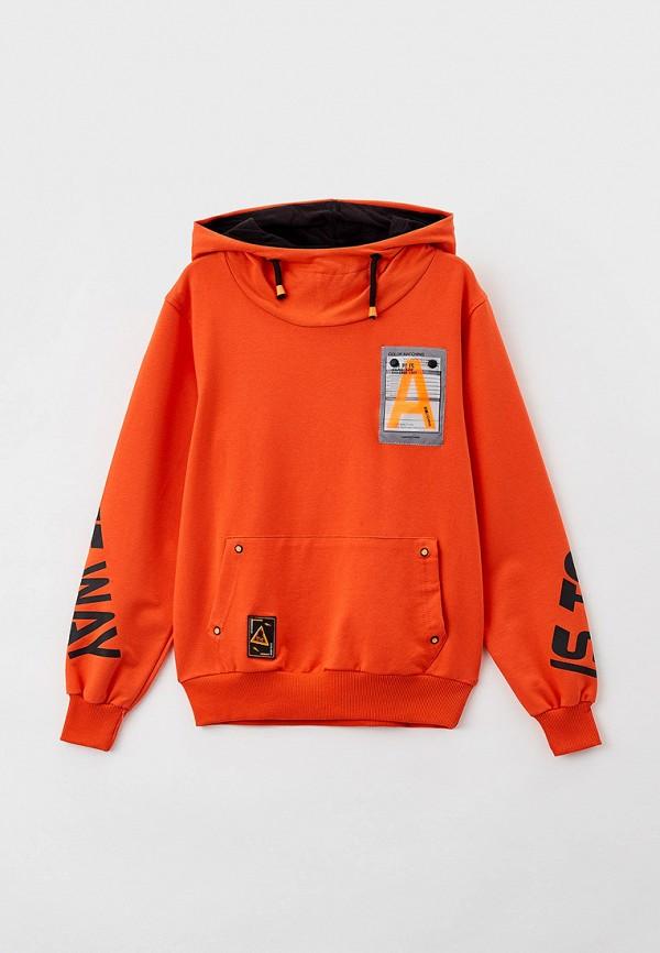 Худи Dali оранжевого цвета