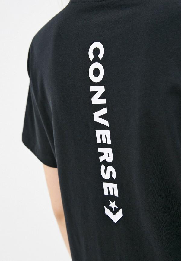 Футболка Converse черный 10021957001 RTLAAO020801