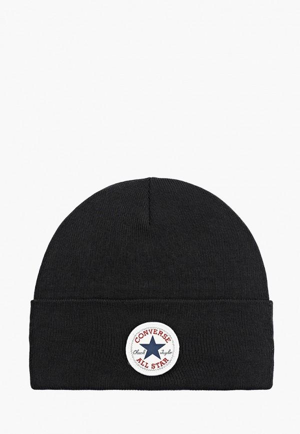 женская шапка converse, черная