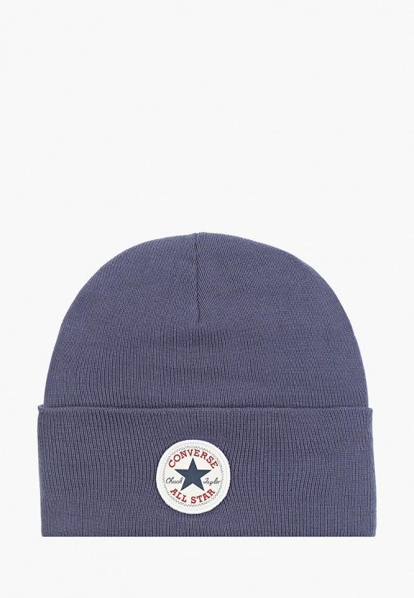 женская шапка converse, синяя
