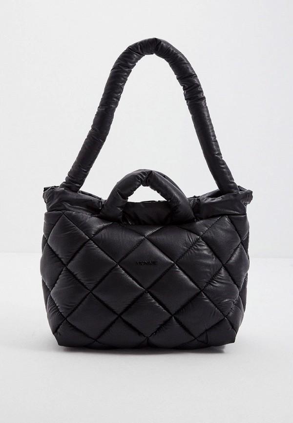 женская сумка с ручками vic matie, черная