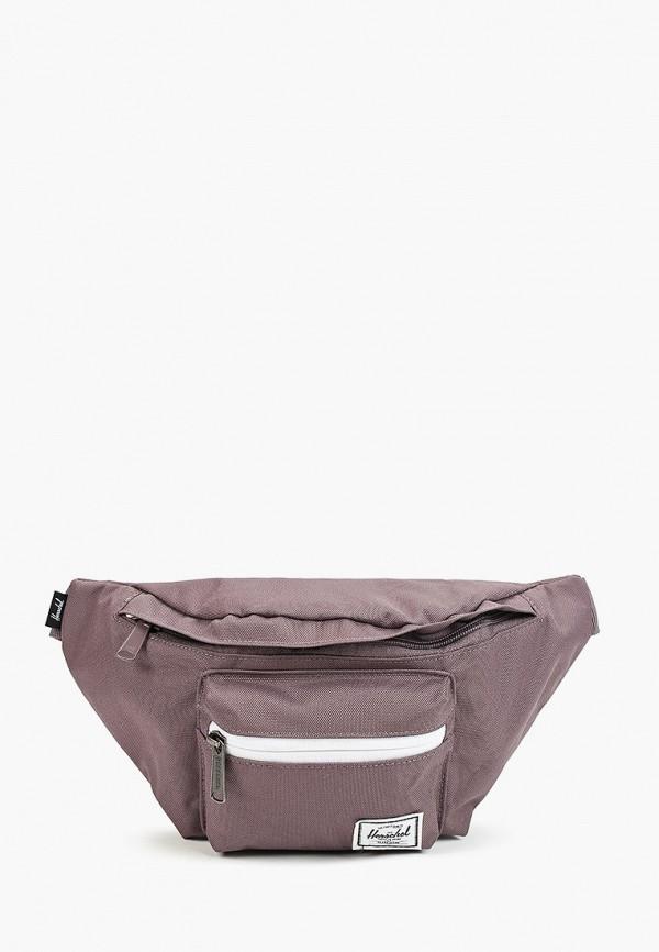 женская поясные сумка herschel supply co, фиолетовая