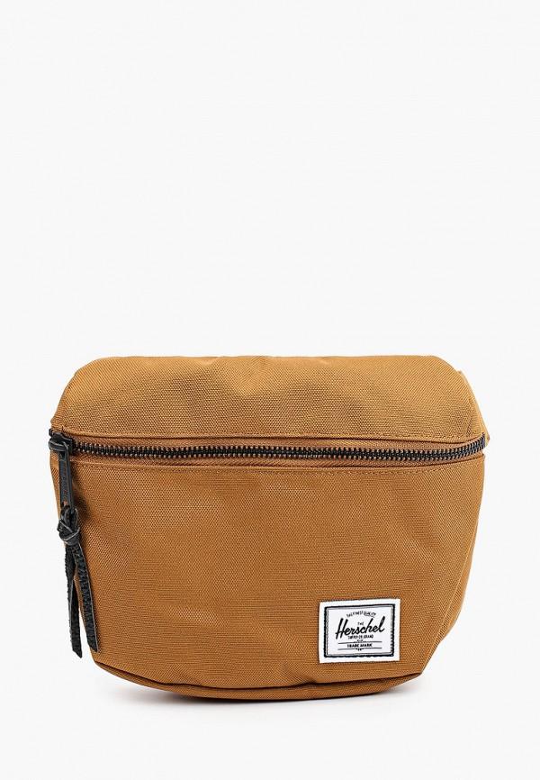 женская поясные сумка herschel supply co, коричневая
