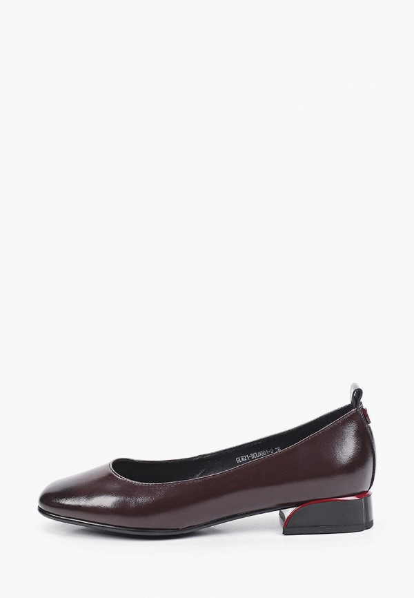 Туфли Covani бордового цвета