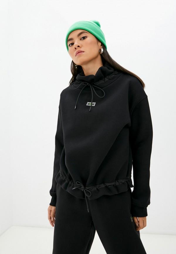 Худи MSGM черного цвета