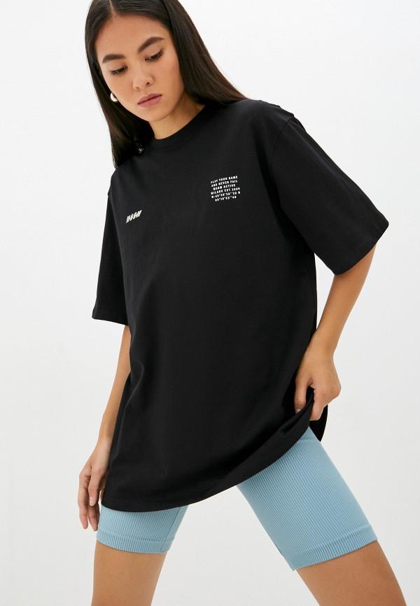 Футболка MSGM черного цвета