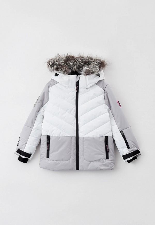 Куртка утепленная Gulliver серого цвета