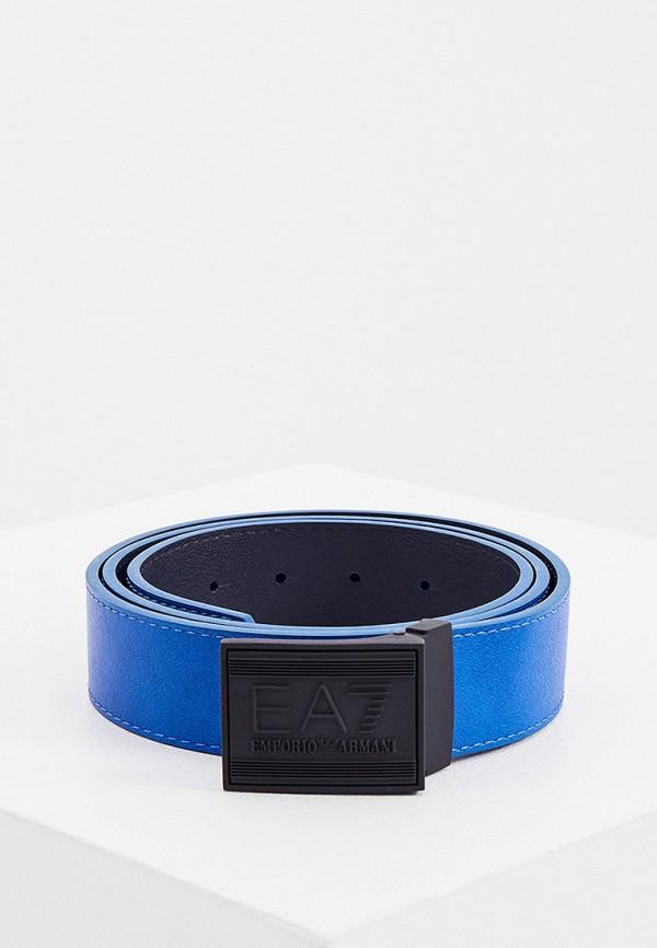женский ремень ea7, синий