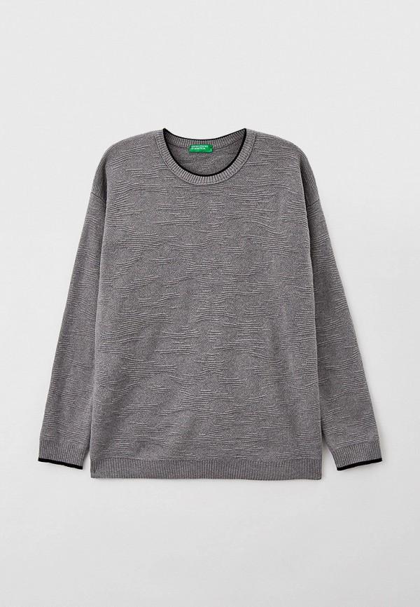 Джемпер United Colors of Benetton серого цвета