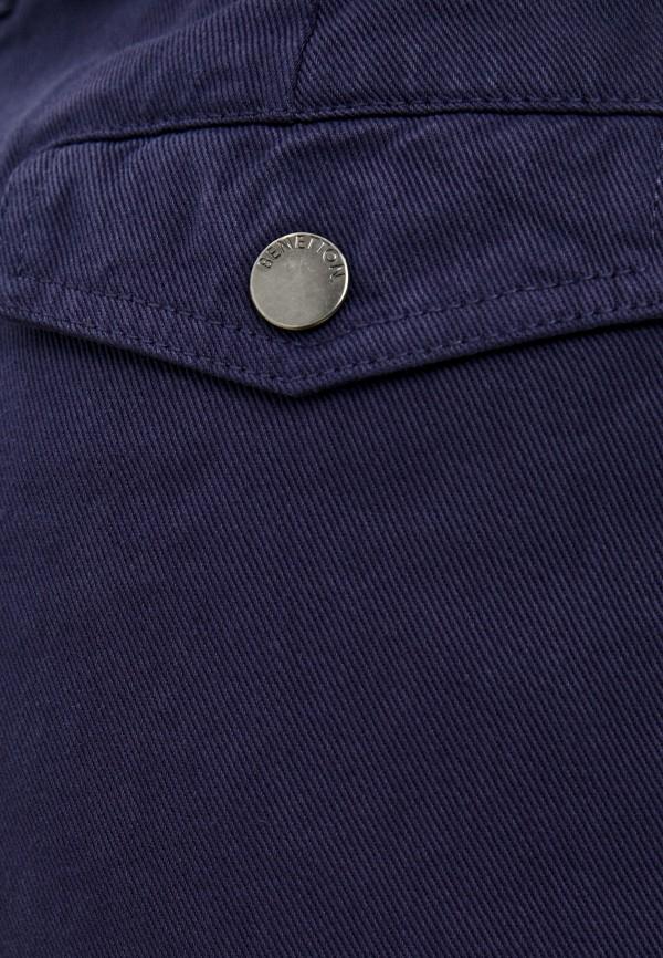 Брюки United Colors of Benetton синий 4DUK55AB4 RTLAAO102301