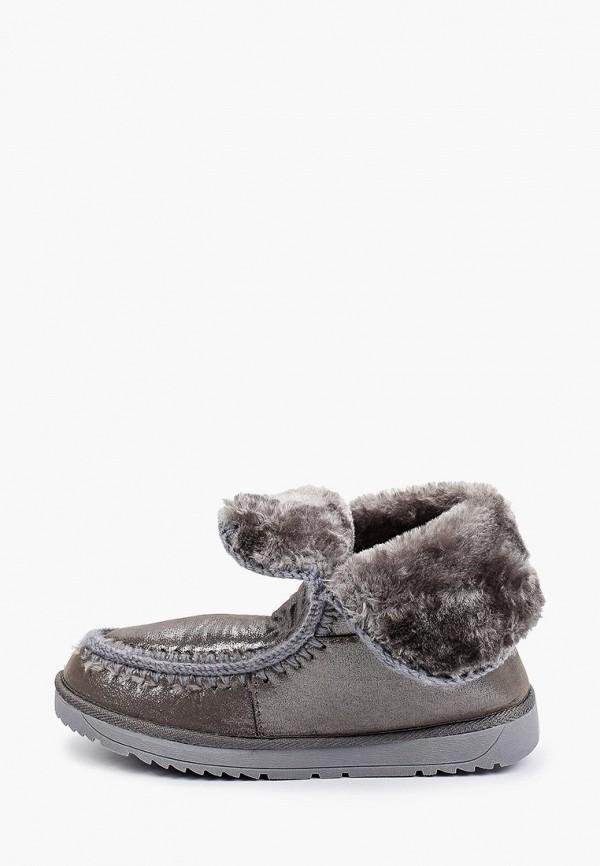 женские ботинки beppi, серые