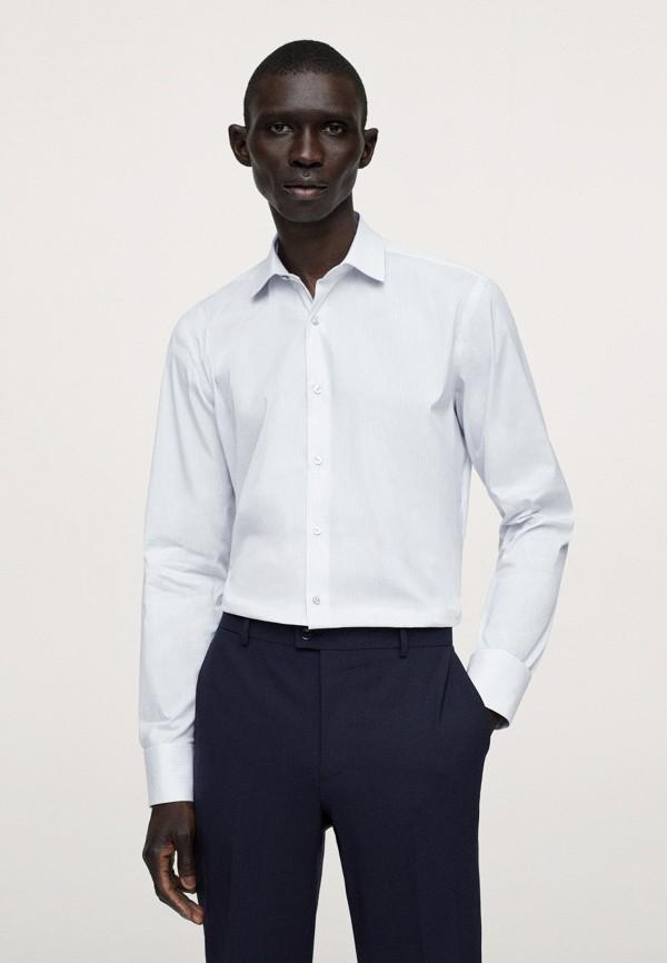 Рубашка Mango Man белого цвета