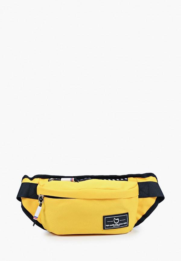 поясные сумка котофей малыши, желтая