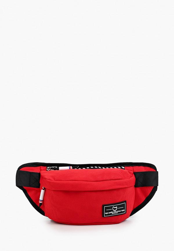 поясные сумка котофей малыши, красная