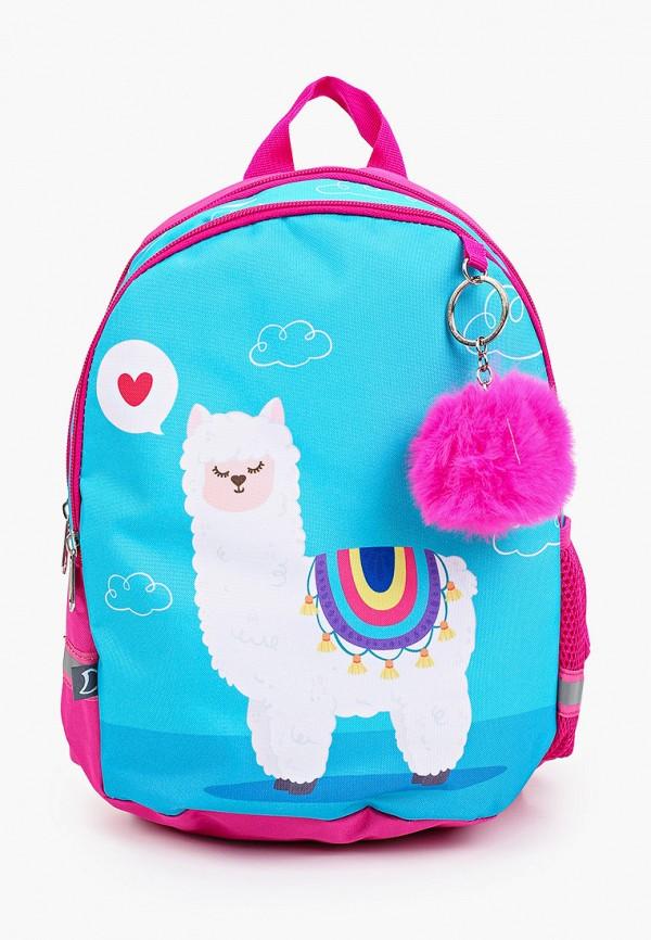 рюкзак котофей для девочки, голубой