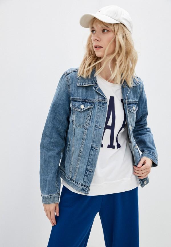 Куртка джинсовая Gap 539350 фото