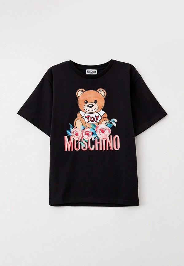 Футболка Moschino Kid HHM02T фото