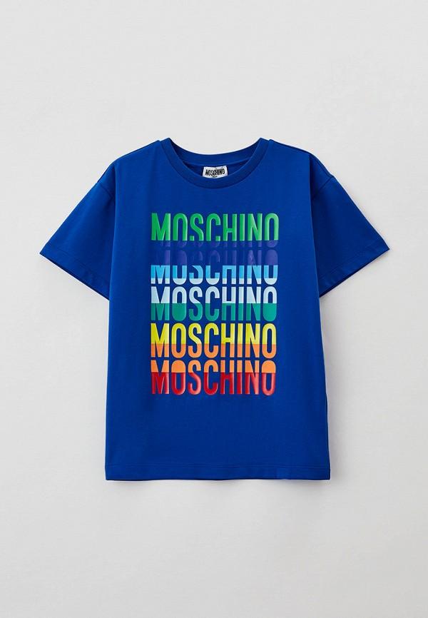 Футболка Moschino Kid HUM037 фото