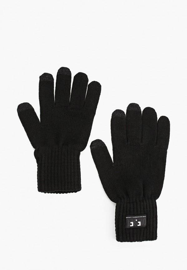 мужские текстильные перчатки diesel, черные