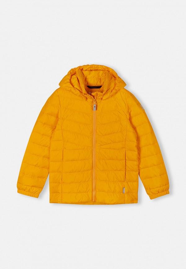 Пуховик Reima желтого цвета