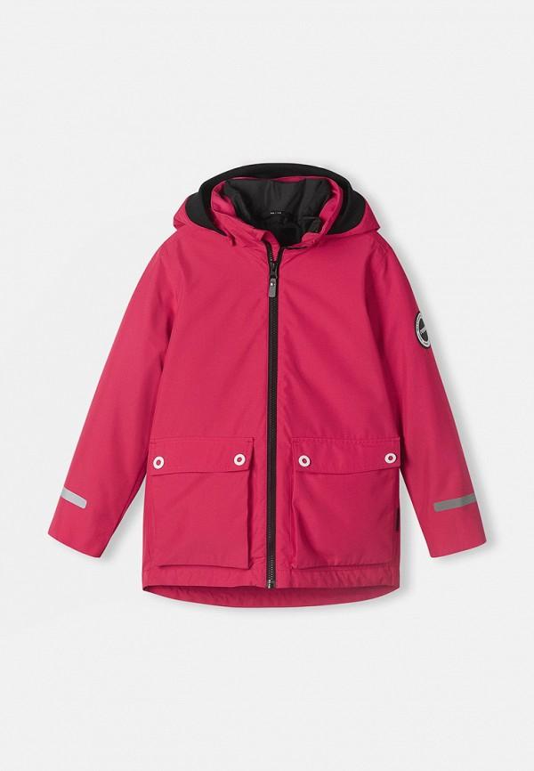 Куртка утепленная Reima розового цвета