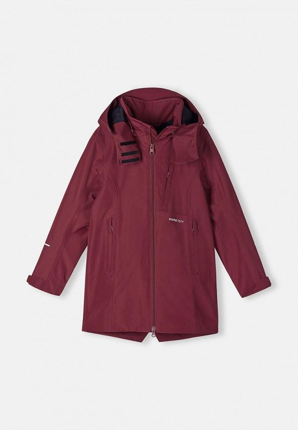 Куртка Reima бордового цвета