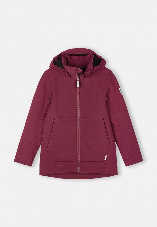 Куртка утепленная Reima бордового цвета
