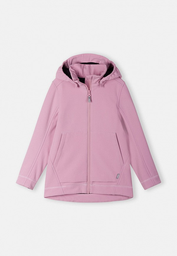 Куртка утепленная Reima фиолетового цвета