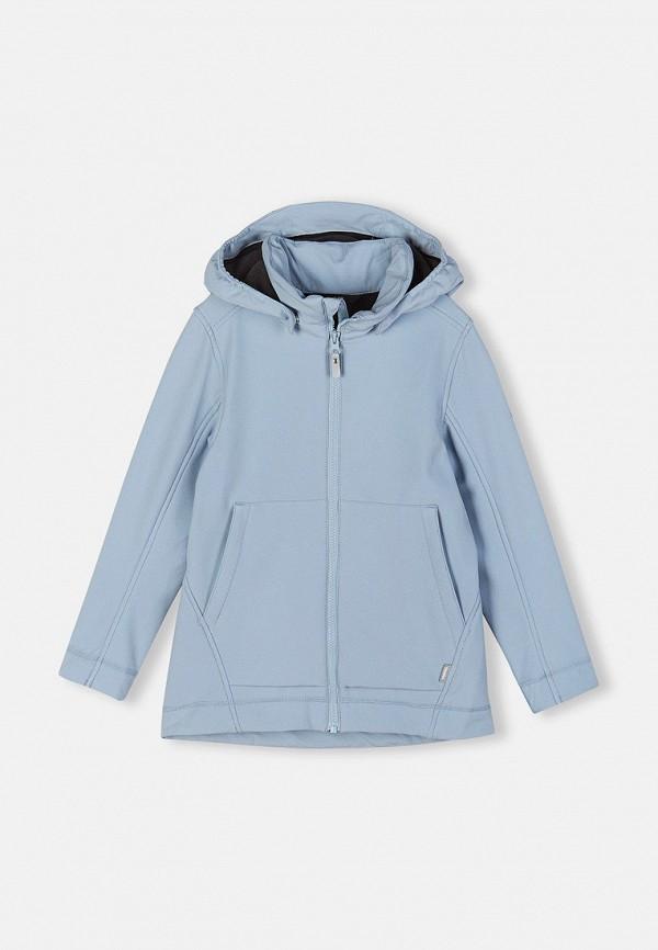 Куртка утепленная Reima голубого цвета