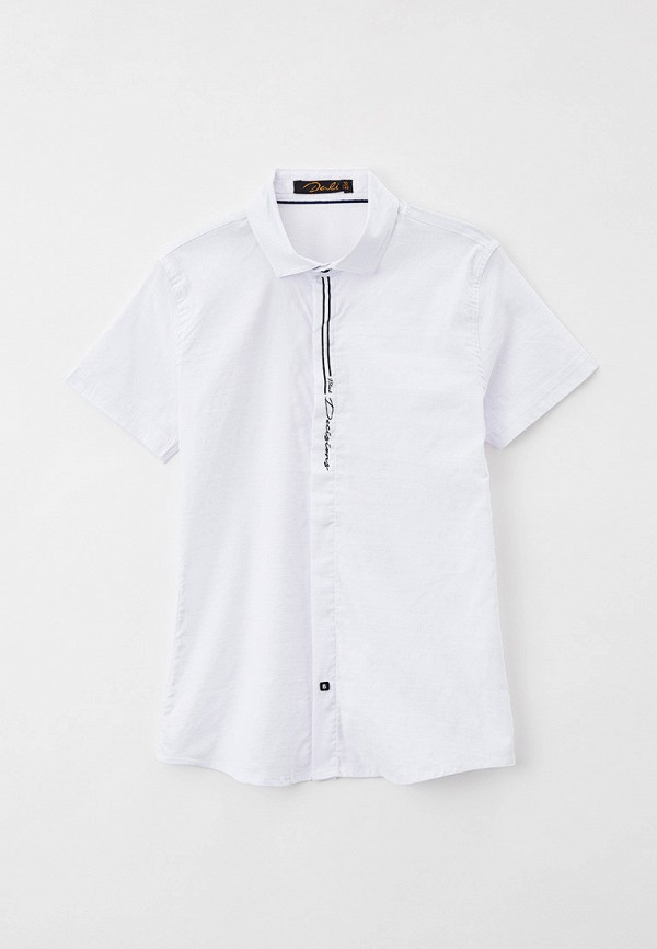 рубашка dali для мальчика, белая