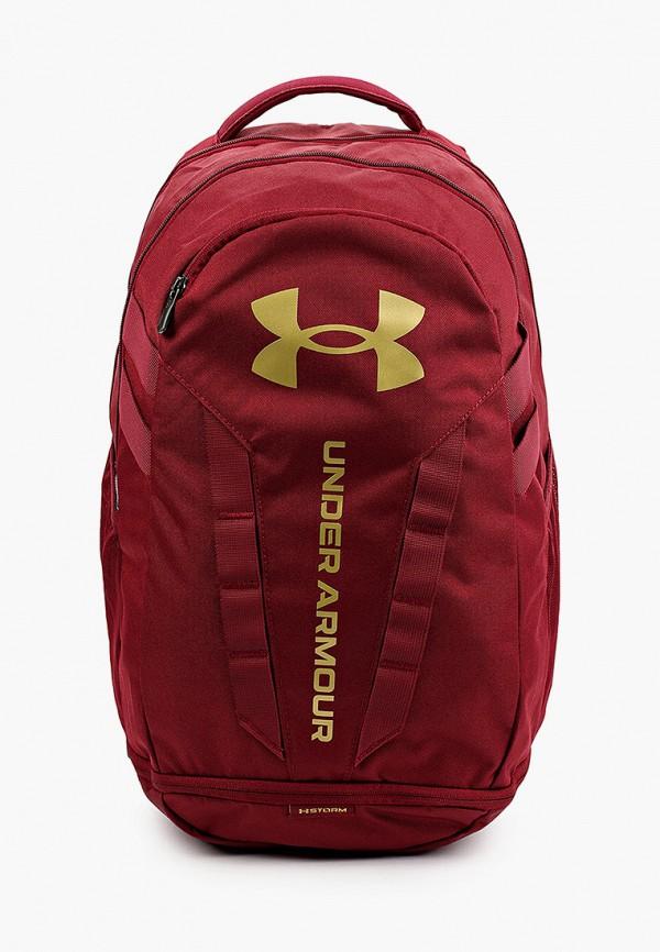женский рюкзак under armour, бордовый