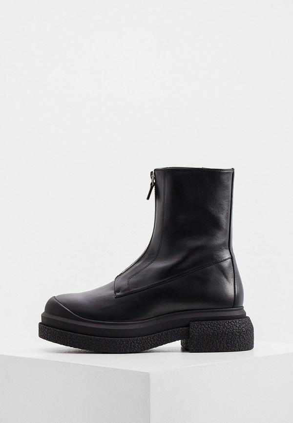Ботинки Stuart Weitzman черного цвета