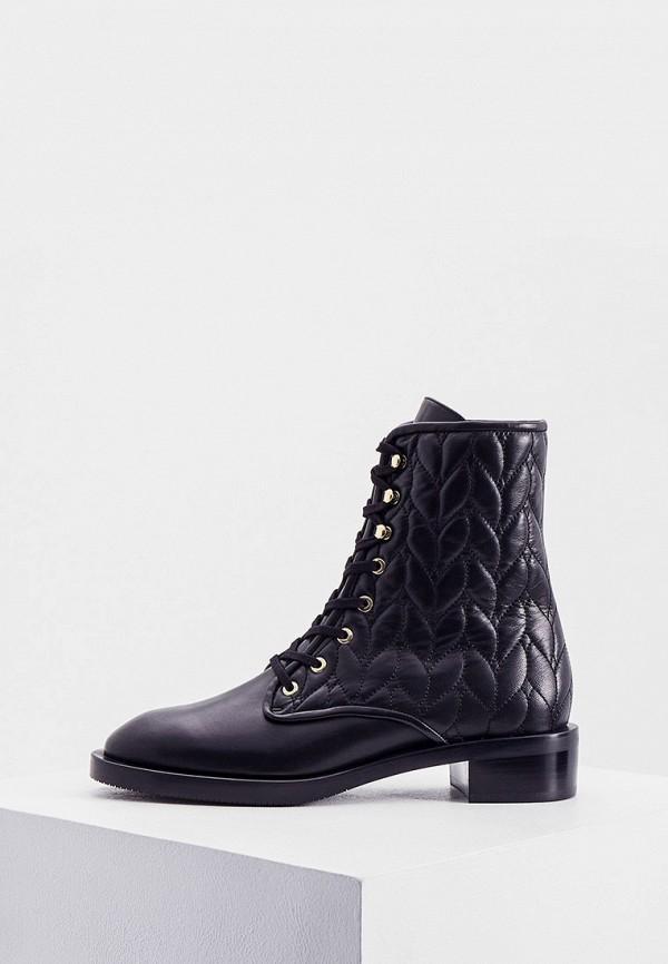 женские ботинки stuart weitzman, черные
