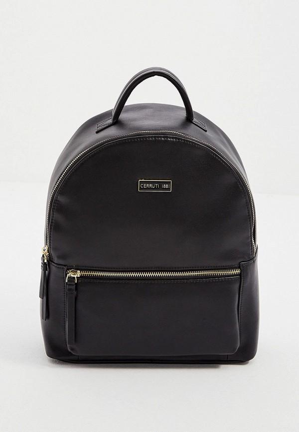женский рюкзак cerruti 1881, черный
