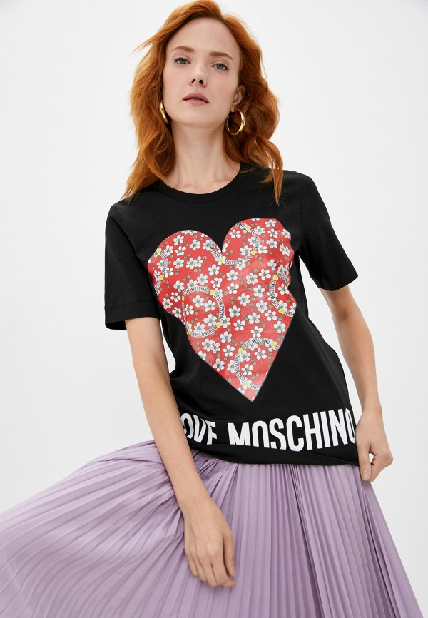 Футболка Love Moschino RTLAAO334101I440