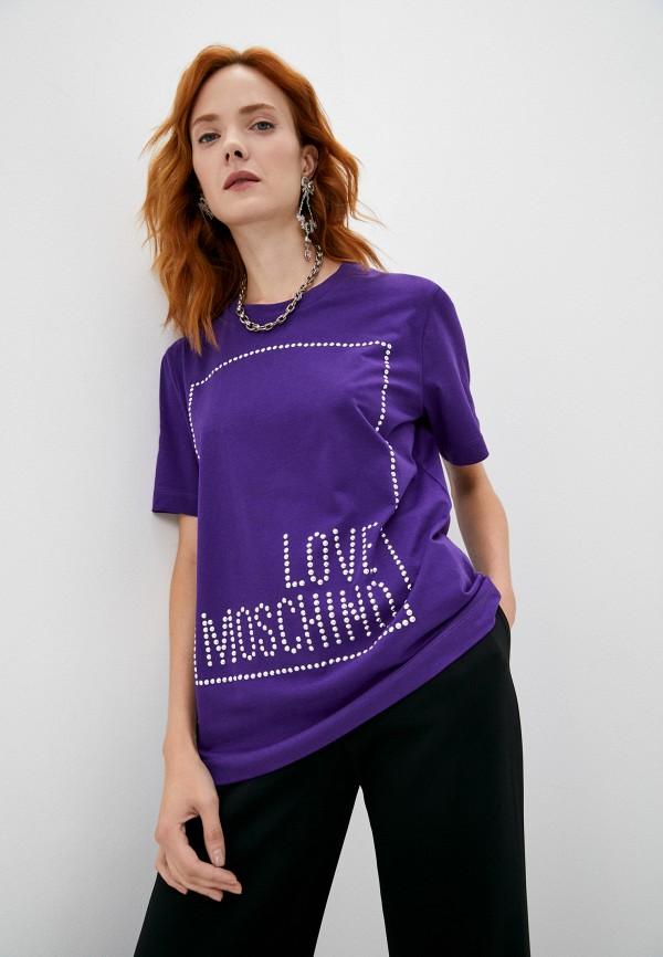 Футболка Love Moschino RTLAAO338001I480