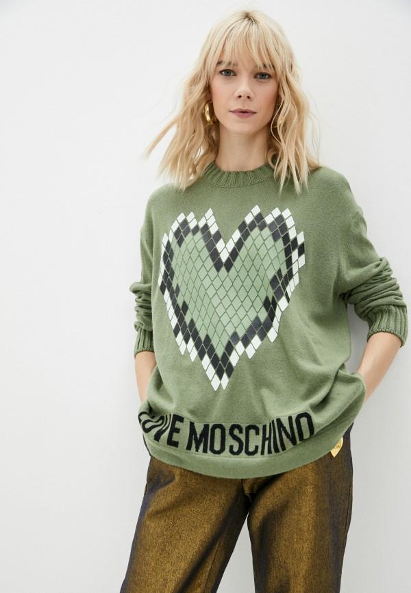 Джемпер Love Moschino RTLAAO352002I380