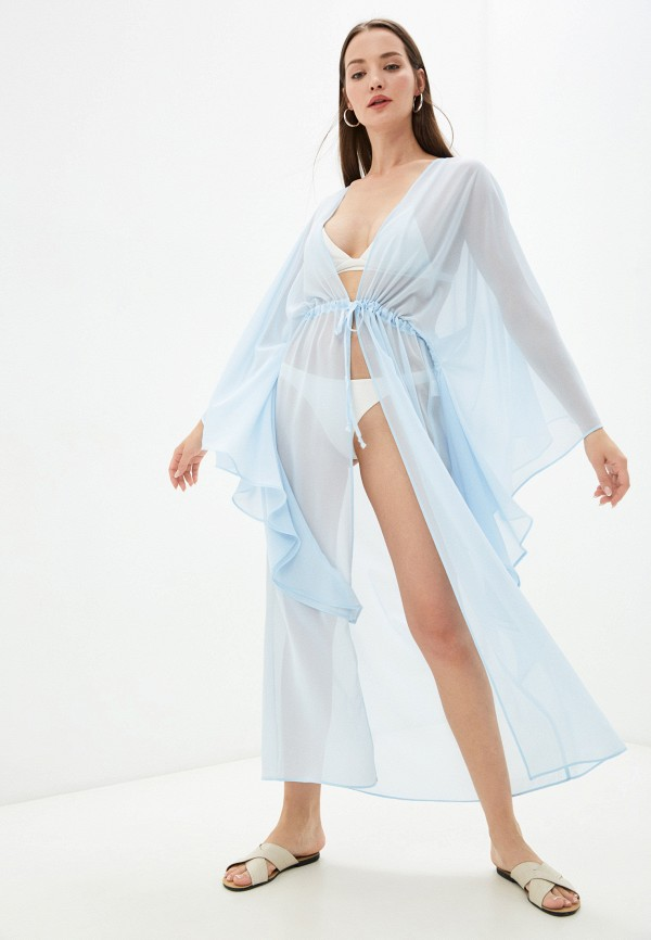 Туника пляжная TrendyAngel голубого цвета
