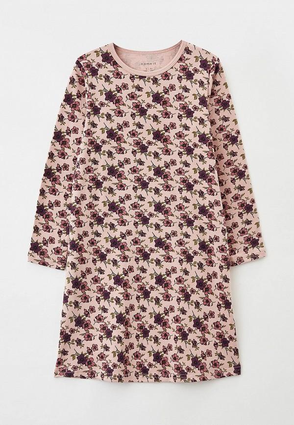платье name it для девочки, розовое