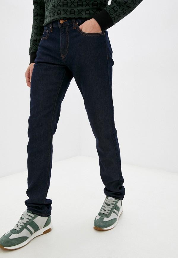 мужские прямые джинсы armani exchange, синие