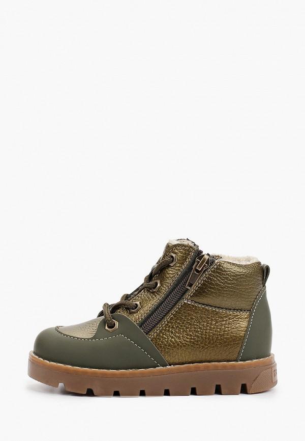 ботинки tapiboo для мальчика, хаки