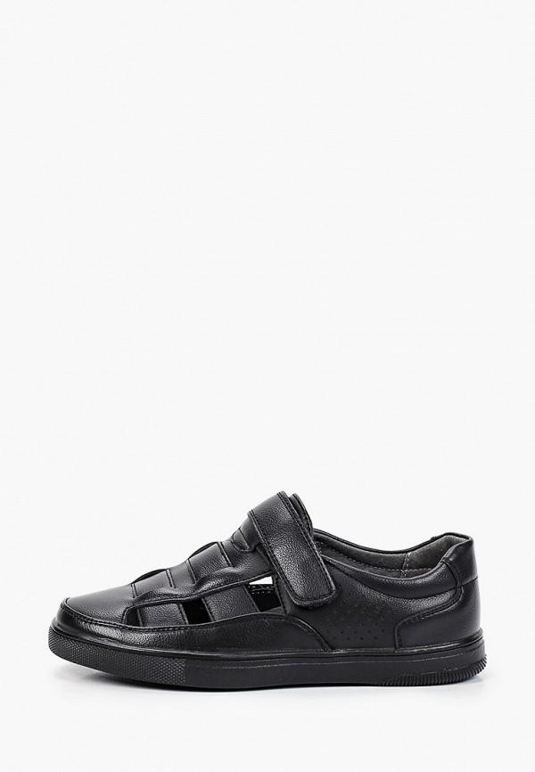 сандалии kenka для мальчика, черные