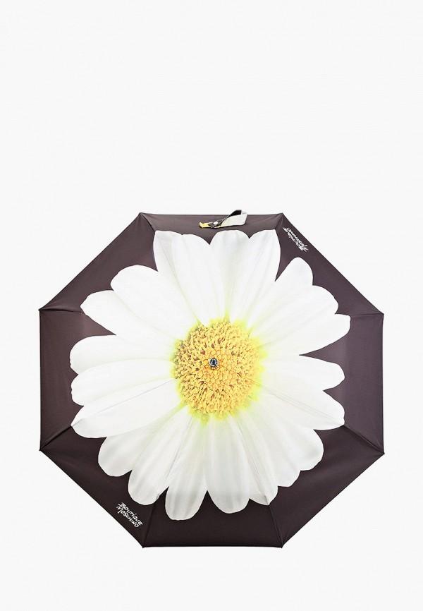 женский складные зонт boutique moschino, черный