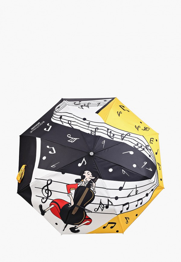 женский складные зонт boutique moschino, разноцветный