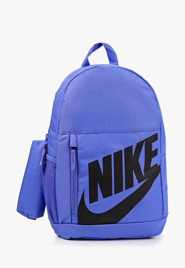 рюкзак nike для девочки, синий