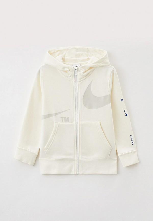 Толстовка Nike белого цвета