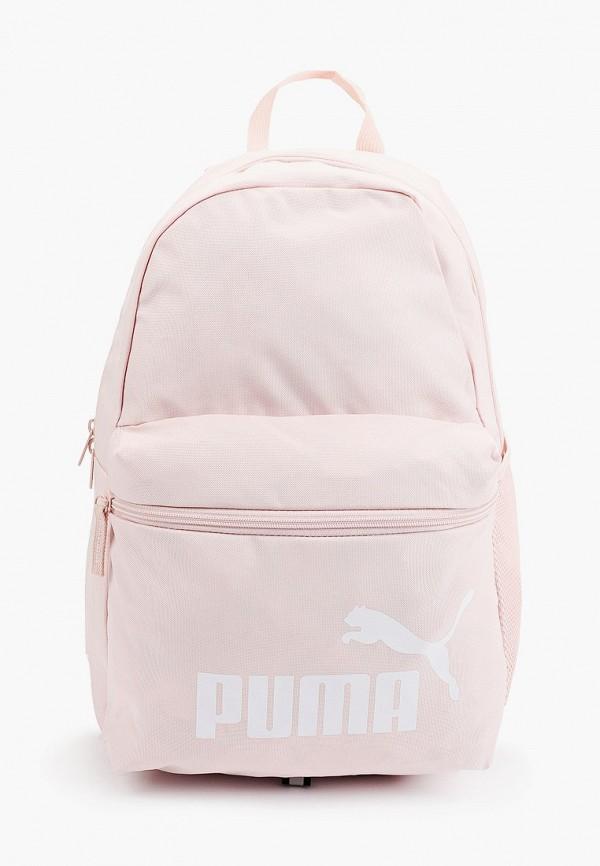 женский рюкзак puma, розовый