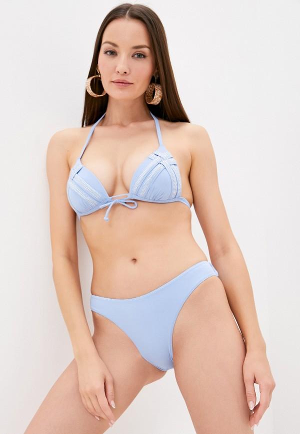 женский купальник rene santi, голубой